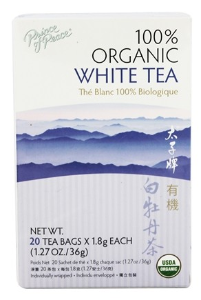 Zoom View - Organic White Peony Tea