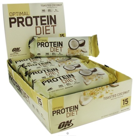 Zoom View - Optimal Protein Diet Bar