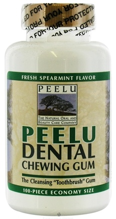 DROPPED: Peelu - Chewing Gum Spearmint - 100 Piece(s)