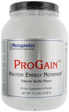 DROPPED: Metagenics - ProGain Vanilla - 3 lbs. CLEARANCE PRICED