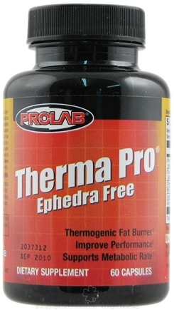 DROPPED: Prolab Nutrition - Therma Pro Ephedra Free - 60 Capsules