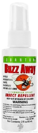 DROPPED: Quantum Health - Buzz Away Spray - 2 oz. CLEARANCE PRICED