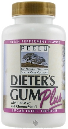 DROPPED: Peelu - Dieter's Gum Plus - 100 Piece(s)