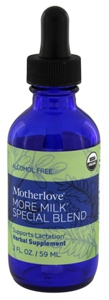 Motherlove - More Milk Special Blend Alcohol Free - 2 oz.