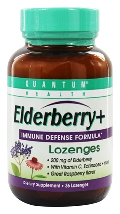 Zoom View - Elderberry Immune Defense Lozenges