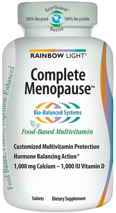DROPPED: Rainbow Light - Complete Menopause Multivitamin - 60 Tablets CLEARANCE PRICED