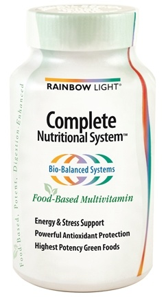 DROPPED: Rainbow Light - Complete Nutritional System - 180 Tablets