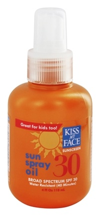 DROPPED: Kiss My Face - Sun Spray Oil 30 SPF - 4 oz.