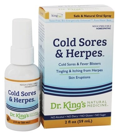 King Bio - Homeopathic Natural Medicine Cold Sores & Herpes - 2 oz.