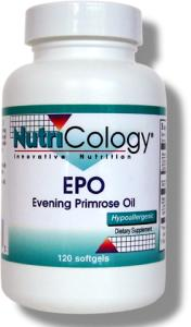 DROPPED: Nutricology - Evening Primrose Oil - 120 Softgels
