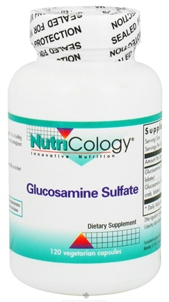 DROPPED: Nutricology - Glucosamine Sulfate - 120 Capsules CLEARANCE PRICED