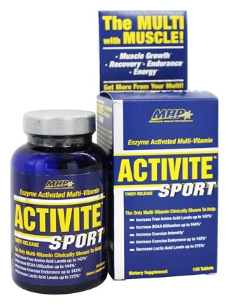 DROPPED: MHP - Activite Sport Multi-Vitamin Enzyme Activated Timed Release - 120 Tablets