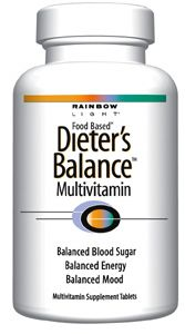 DROPPED: Rainbow Light - Dieter's Balance Multivitamin - 60 Tablets