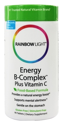 DROPPED: Rainbow Light - Energy B-Complex - 90 Tablets