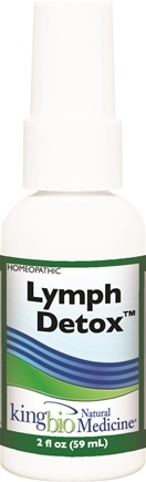 DROPPED: King Bio - Homeopathic Natural Medicine Lymph Detox - 2 oz. CLEARANCE PRICED