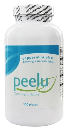 Peelu - Chewing Gum with Xylitol Peppermint - 300 Piece(s)
