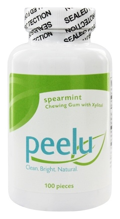 Peelu - Chewing Gum with Xylitol Spearmint - 100 Piece(s)