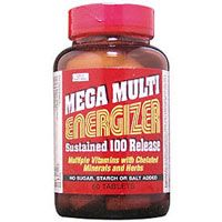 DROPPED: Only Natural - Mega Multi Energizer Sustained Release - 60 Tablets