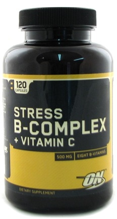 DROPPED: Optimum Nutrition - High Potency Stress B Complex Plus Vitamin C - 120 Capsules CLEARANCE PRICED