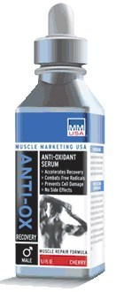 DROPPED: Muscle Marketing USA, Inc - Anti-Ox Serum Male Strawberry - 5 oz.