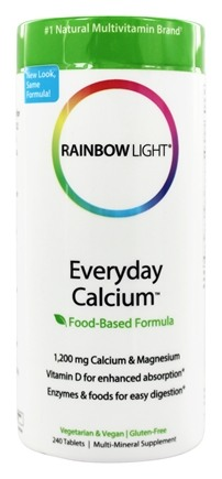 Rainbow Light - Everyday Calcium with Enzymes - 240 Tablets