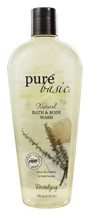 DROPPED: Pure & Basic - Body Wash Revitalizing - 12 oz.