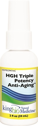 Zoom View - Homeopathic Natural Medicine HGH -Triple Potency Anti-Aging Formula