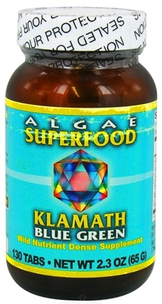 DROPPED: Klamath - Blue Green Algae 500 mg. - 130 Tablets