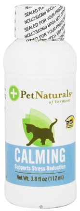 DROPPED: Pet Naturals of Vermont - Calming Support for Cats - 4 oz. CLEARANCE PRICED