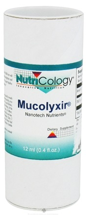 DROPPED: Nutricology - Mucolyxir Nanotech Nutrients - 12 ml. CLEARANCE PRICED