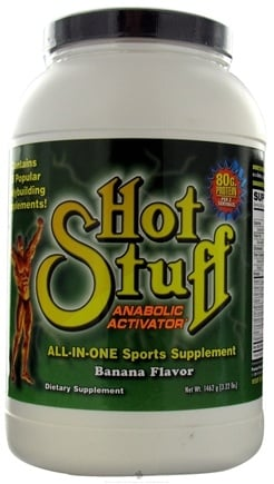 DROPPED: Hot Stuff Nutritionals - Super X Hot Stuff Anabolic Activator Banana Flavor - 3.22 lbs.
