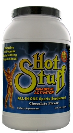DROPPED: Hot Stuff Nutritionals - Super X Hot Stuff Anabolic Activator Chocolate Flavor - 3.22 lbs.