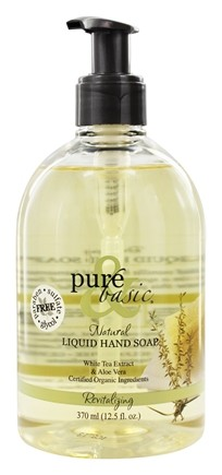 Pure & Basic - Liquid Hand Soap Revitalizing - 12.5 oz.