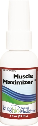King Bio - Homeopathic Natural Medicine Muscle Maximizer - 2 oz.