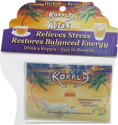 DROPPED: Koppla Nutrients - Herbal Adaptogen Beverage Mix - 3 Packet(s)