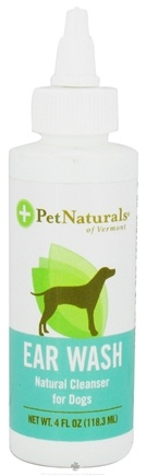 Zoom View - Ear Wash Natural Cleanser for Dogs