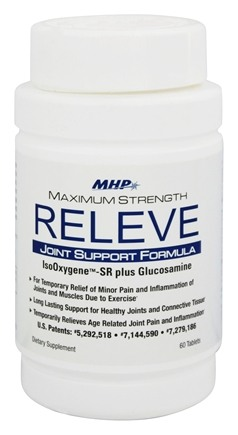 DROPPED: MHP - Releve Joint Support Formula Maximum Strength - 60 Tablets