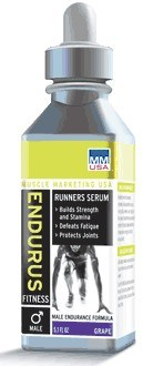 DROPPED: Muscle Marketing USA, Inc - Male Endurus Runner Cherry - 5.1 oz.