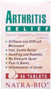 DROPPED: NatraBio - Arthritis Pain Relief