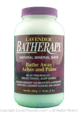 DROPPED: Queen Helene - Batherapy Mineral Bath Salts Lavender - 16 oz.