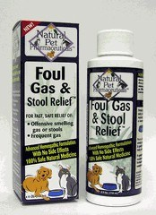 DROPPED: King Bio - Natural Pet Pharmaceuticals Foul Gas & Stool Relief - 4 oz.