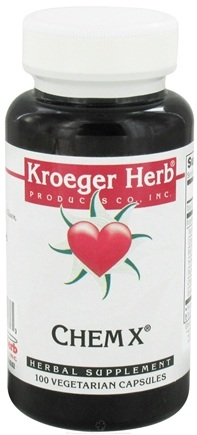 DROPPED: Kroeger Herbs - Chem X - 100 Vegetarian Capsules CLEARANCED PRICED