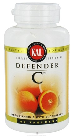 Kal - Defender C - 60 Tablets
