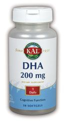 DROPPED: Kal - DHA 200 mg. - 50 Softgels