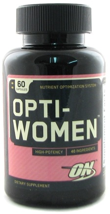 DROPPED: Optimum Nutrition - Opti-Women Women's Multiple - 60 Capsules