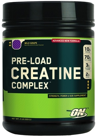 DROPPED: Optimum Nutrition - Pre-Load Creatine Complex Wild Grape - 2 lbs. SPECIALLY PRICED