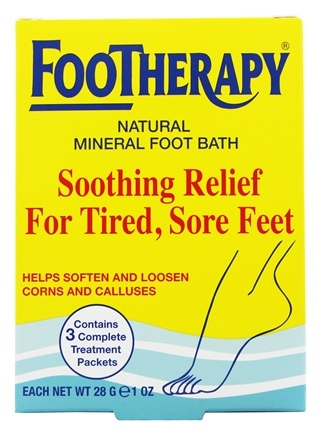 Zoom View - Footherapy Foot Bath Trial Size