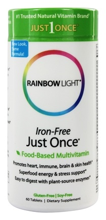 Zoom View - Just Once Multivitamin Iron-Free