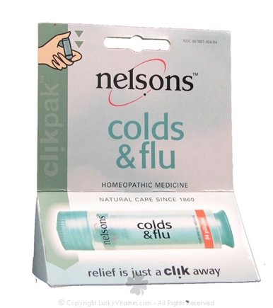 DROPPED: Nelsons - Clik Pak Cold & Flu Formula - 84 Pillule(s)