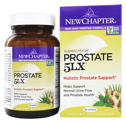 DROPPED: New Chapter - Prostate 5LX - 120 Softgels